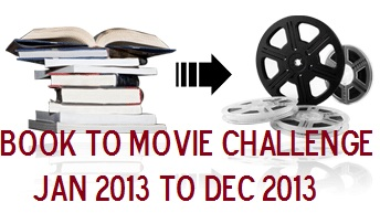 2013 Book to Movie Challenge